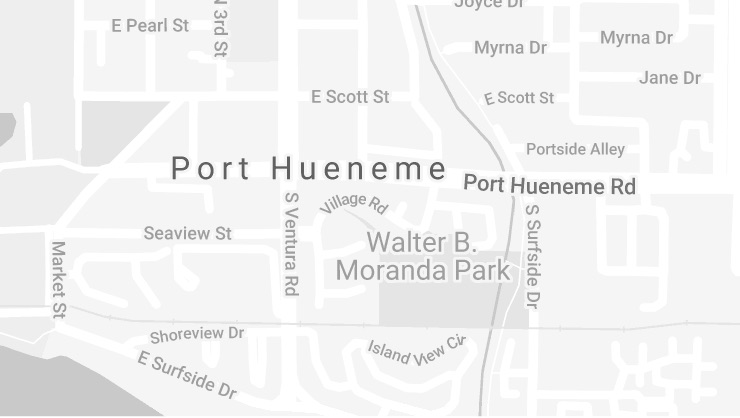 Port Hueneme Location